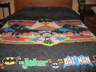 Vintage Batman Joker Bedspread 1989 D, Batman Joker Bedding