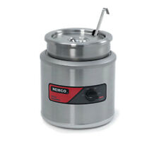 Nemco 6102a Icl 7 Quart Round Cooker Warmer With Inset Cover Amp Ladle