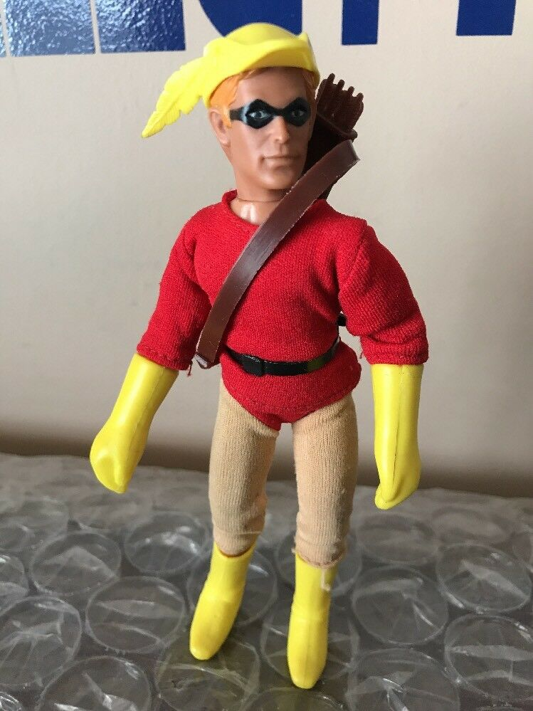 Vintage Rare 70s All Original Mego Teen Titans Speedy Figure Doll NOT COMPLETE