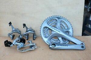 Shimano Ultegra 3x10 6700 groupset cranks, derailleurs, brakes EXCELENT USED !!!