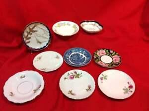 Antique-amp-Vintage-Porcelain-China-amp-GlassSaucers-Replacement-Pieces