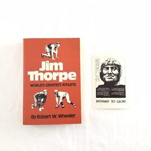Jim-Thorpe-World-039-s-Greatest-Athlete-Book-1975-By-Robert-W-Wheeler-Author-Signed