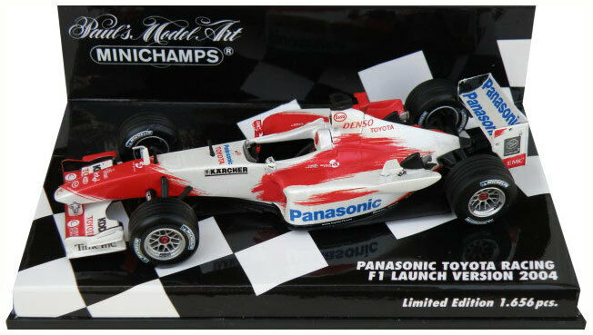 Minichamps Toyota Racing F1 Launch Launch Launch Version 2004 - 1 43 Scale 02d222