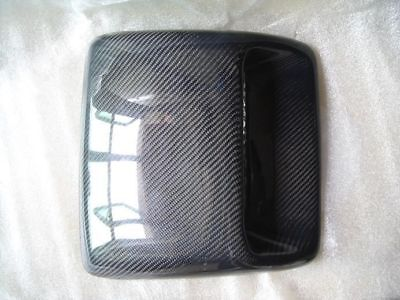 32CM*30CM Universal Carbon Fiber Roof Hood Bonnet Scoops Air Vents Type C010