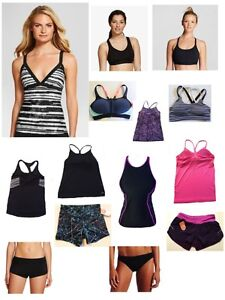 c58e6bea4d Image is loading Women-Champion-Swimwear-separates-Bikini-Boy-shorts -Tankini-