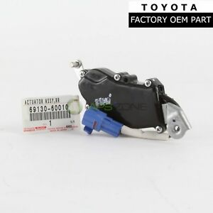 Genuine Toyota Lexus Rear Passenger Side Door Lock Actuator Oem 69130 60010 Ebay