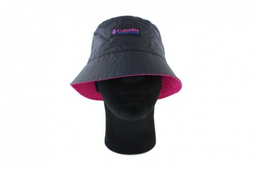 Reverse Black Pink Columbia Bucket Hat Roatan Drifter II Wendehut
