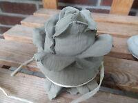 garten deko steinblüte rose aus stein Ø 39 cm steinrose rosenblÜte, Best garten ideen