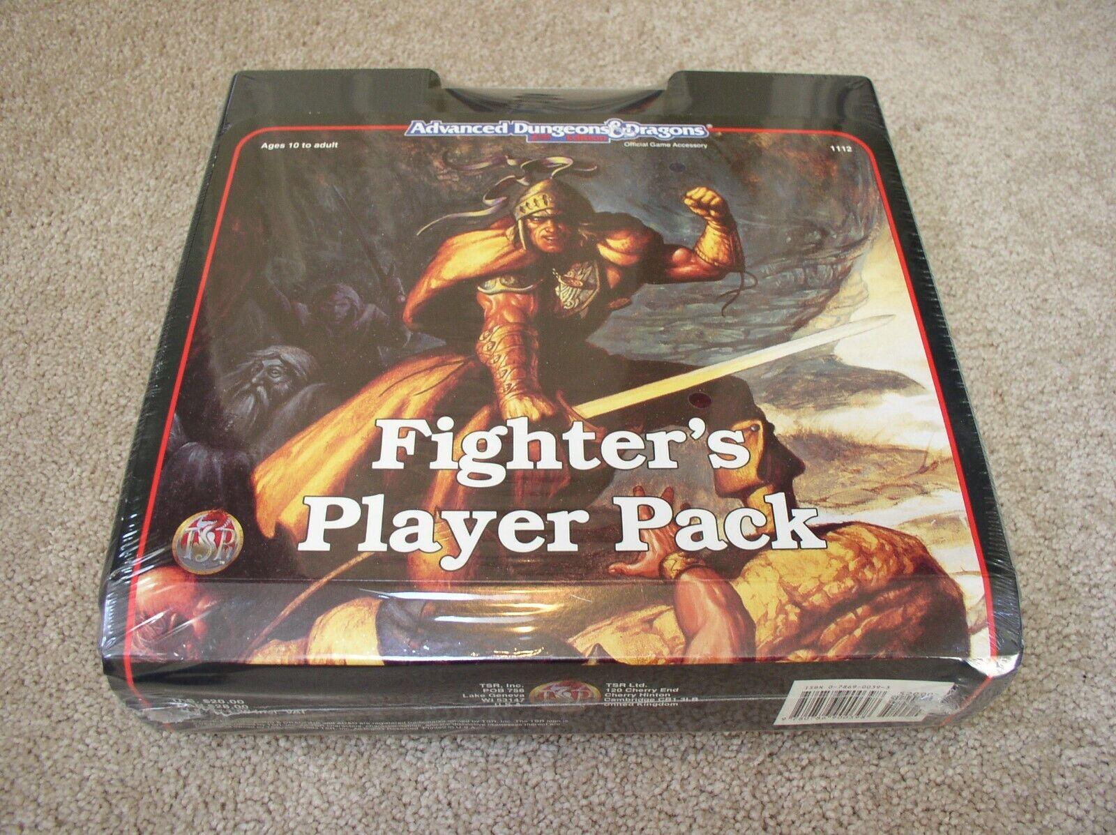 Paquete de jugador ad&d Fighter's - Precintada