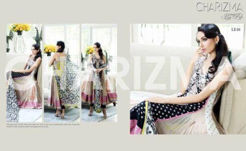 10 Charizma Stitched Kameez 8 Dress Salwar Designer Chiffon Taglia v1x8RTTw