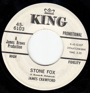 FUNK-45-JAMES-CRAWFORD-STONE-FOX-KING-PROMO-VG-HEAR-BOTH