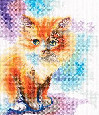 Sunny kitten M827 Counted Cross Stitch Kit RTO