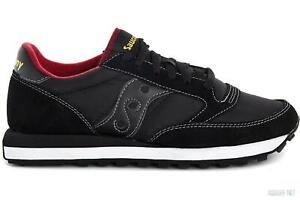 low priced 54fe3 6721b Details about Men's Shoes Saucony Jazz Original 2044 251 Black Red Sneakers  Casual New