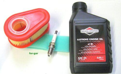 DOV Luftfilter Zündkerze 750 Motorenöl Wartungsset für Briggs /& Stratton 700