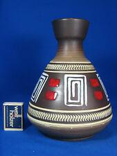 60´s design WGP Schlossberg Keramik Vase  128  20