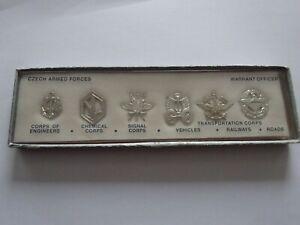 (A53-U)  CZ CSSR Tschechoslowakei US-Erkennungskarte Warrant Officer Cold-War