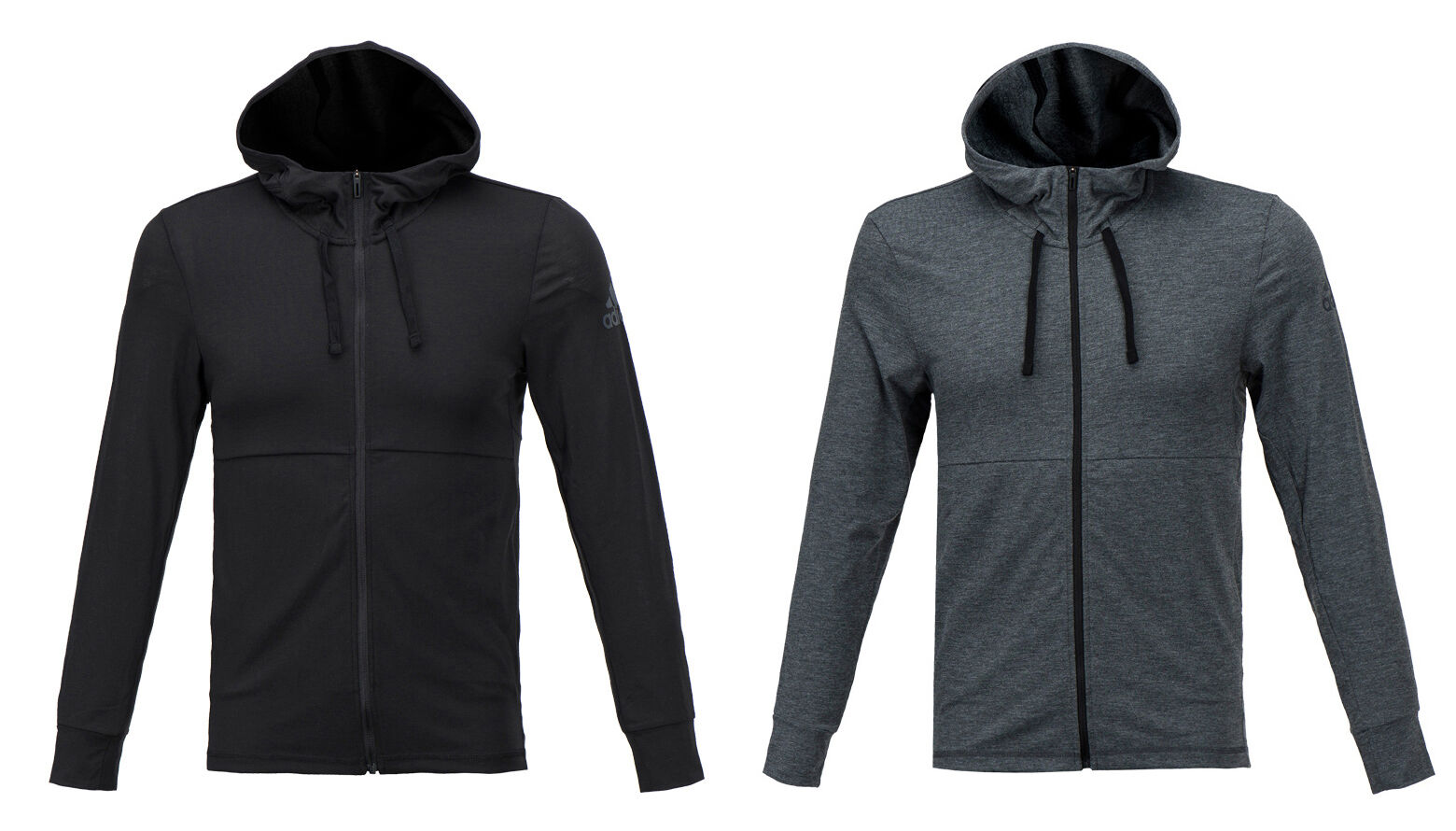 Adidas Workout Lite Zip-up Top CD8841 CD8839 Soccer Training Climalite Hoodies