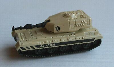 Majorette Military Zone Panzer Beige Militär Army Tank Char De Combat Kampvogn