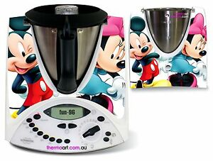thermomix sticker decal code fun 96 mickey and minnie ebay. Black Bedroom Furniture Sets. Home Design Ideas