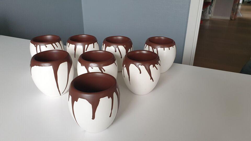 Keramik, Chokoladekrus / urtepotteskjuler, EGO Together