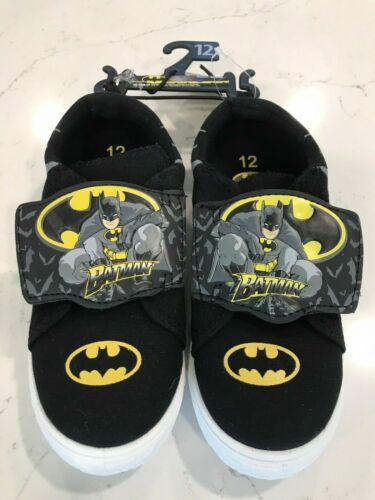 Toddler Boys Batman DC COMICS Licensed Casual Shoes Sneakers NEW FREE SHIPPING