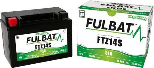 Bateria Moto Fulbat FTZ14SYTZ14SGTZ14SDTZ14SBTZ14Sactivada