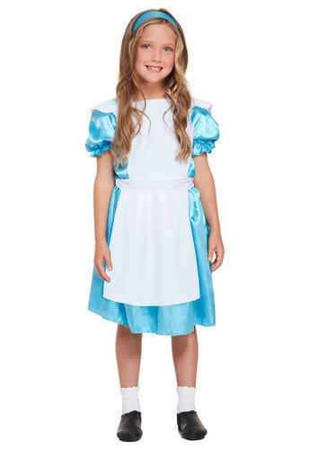 Calze Bianche Alice nel Paese delle Meraviglie Ragazze Costume Bambini fairtytale Costume
