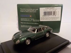 Aston-Martin-DB4-GT-Zagato-Jim-Clark-Oxford-Diecast-1-76-New-Dublo-Railway-S