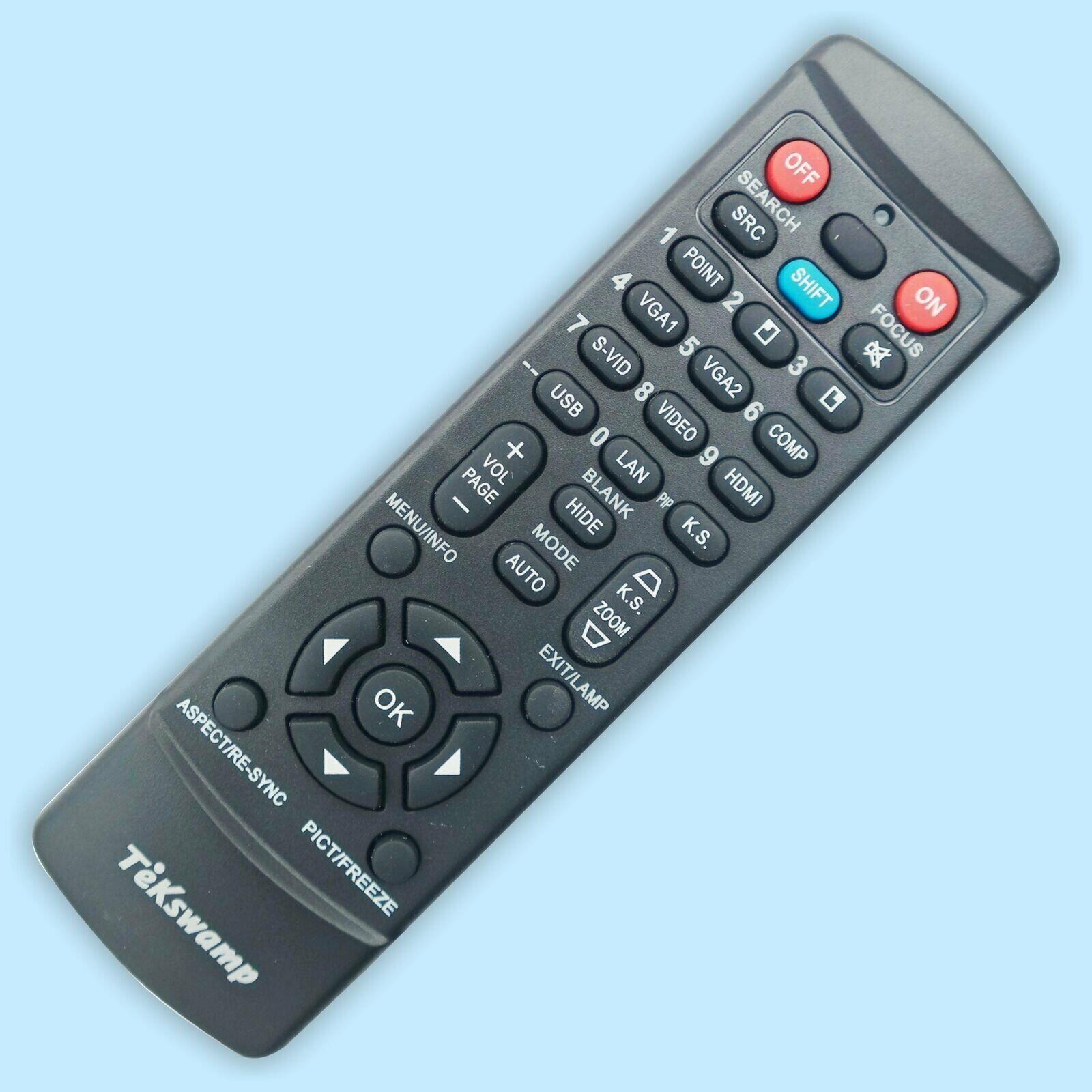 New Original Projector Remote Control For DELL 1420X 1430X 2300MP 2400MP 3200MP