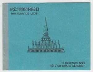 D1215 : Laos #99a Perforés, Livret; Cv