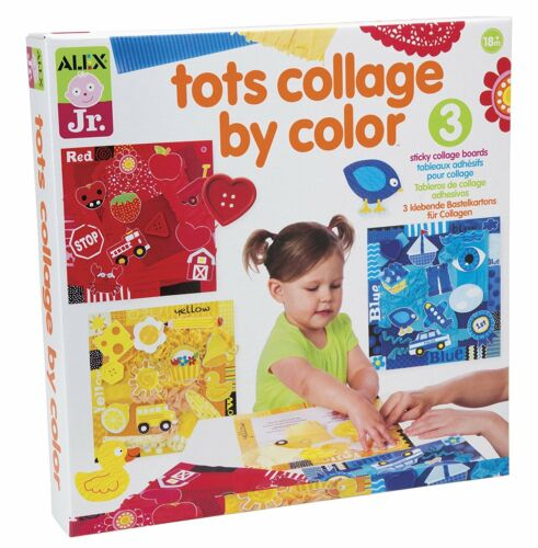 ALEX Toys 1853 Jr. Tots Collage By Color Activity Set Arts & Crafts For Kids New