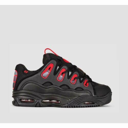 Osiris Schuhe d3 2001 Black Red Verblassen 2020 Neu Skate 38 39 40 41 42 43 4