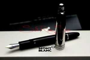 Montblanc-Solitaire-Steel-Doue-146-LeGrand-Fueller-Stainless-Steel-Edelstahl