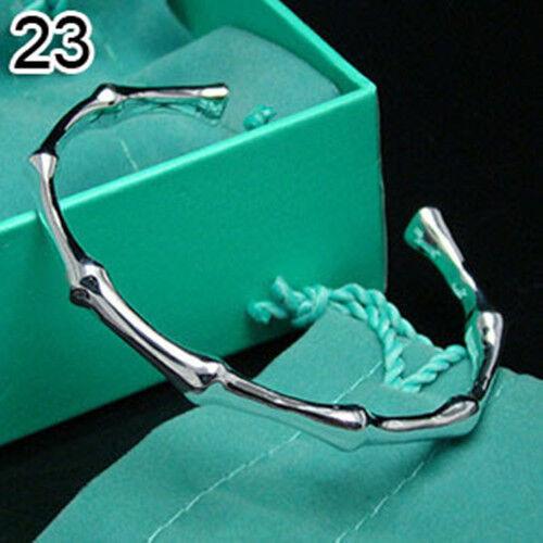 Wholesale New Fashion Jewelry 925 Sterling Silver Charm Chain Bracelet Bangle