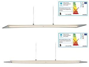 LED-Pendelleuchte-Pendellampe-Haenge-Lampe-Decken-leuchte-satiniertem-Glas