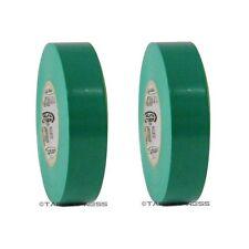 2 Rolls Green Vinyl Pvc Electrical Tape 34 X 66 Flame Retardant Free Shipping