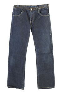 Vintage-Levis-Blue-Star-High-Waist-Unisex-Denim-Jeans-w32-l34-dunkelblau-j4
