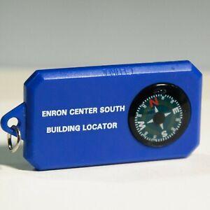 Enron Collectable – Enron Center South Building Locater, Key Ring Fob Compass