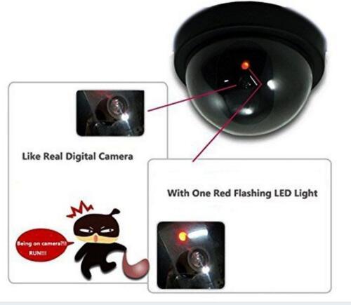 4 Securitycamera Security Dummy Fake Indoor Outdoor Cctv Dummy Camera Led Light