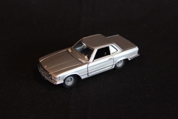 Märklint Mercedes-Benz 350 SL 1 43 43 43 Silver (JS) d28