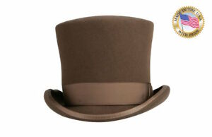 30006026e6b27d Image is loading Shannon-Phillips-STEAMPUNK-Mad-Hatter-PECAN-BROWN-Tall-