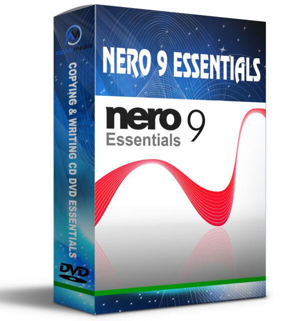 Nero 9 Essentials cd burning software
