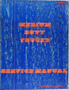 1984 chevrolet gmc medium truck shop manual c5000 c6000 c7000 c50 rh ebay com
