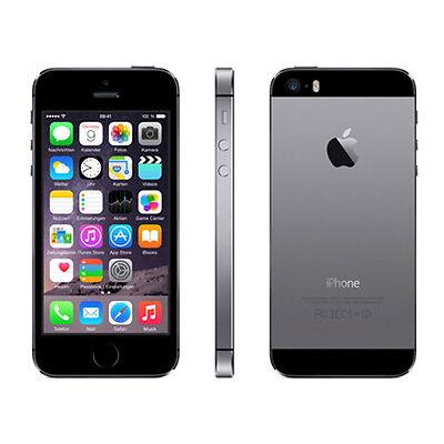 Apple iPhone 5s 16GB Spacegrau Simlockfrei wie neu ovp 12 Monaten Gewährleistung