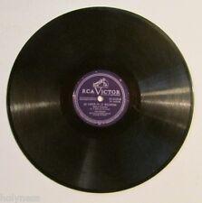 OLGA CHORENS / LA VIRGEN DE LA MACARENA / LA ZARZAMORA / 78 RPM RECORD