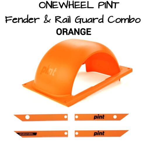 ONEWHEEL PINT Fender /& Rail guard Kit Save $$ Buying This Orange Combo Kit