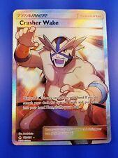 Forbidden Light Crasher Wake #129 FULL ART Ultra Rare NM Pokemon SM