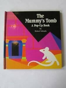 The Mummy's Tomb: A Pop-Up Book - Hardcover By Robert Sabuda - GOOD