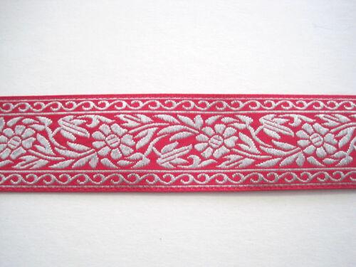 Ranken Blüten Silber Pink BO-J3-1601