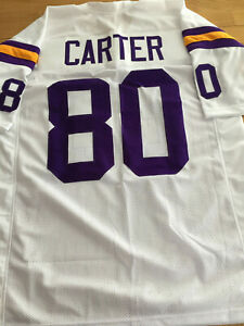 Vikings Cris Carter custom unsigned jersey | eBay